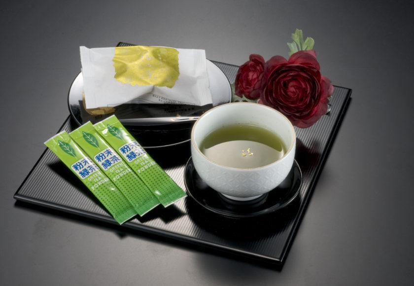 金箔緑茶イメージ写真